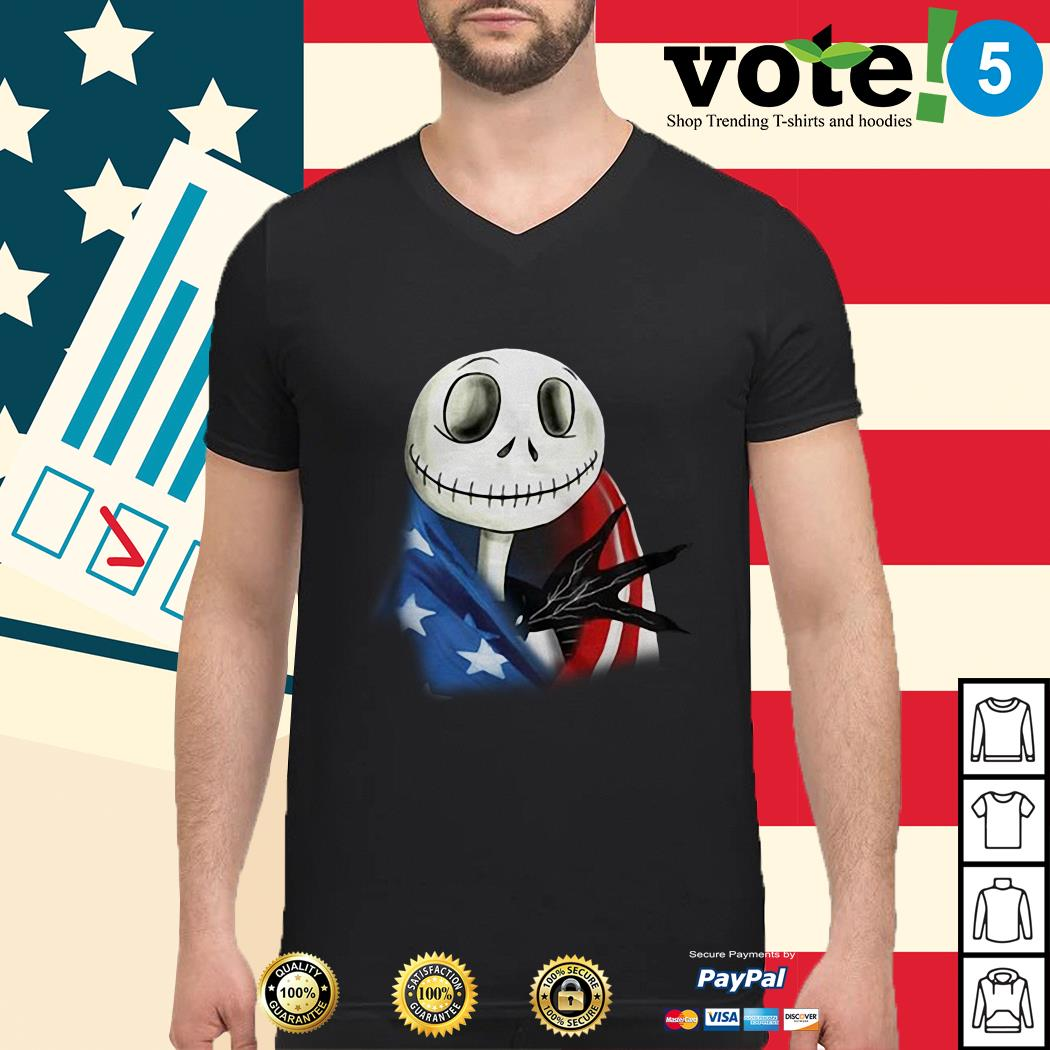 4th July independence day Skellington capes American flag Guy sshirt