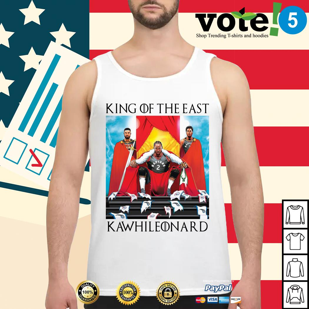 Toronto Raptors King of the East Kawhi Leonard Tank top