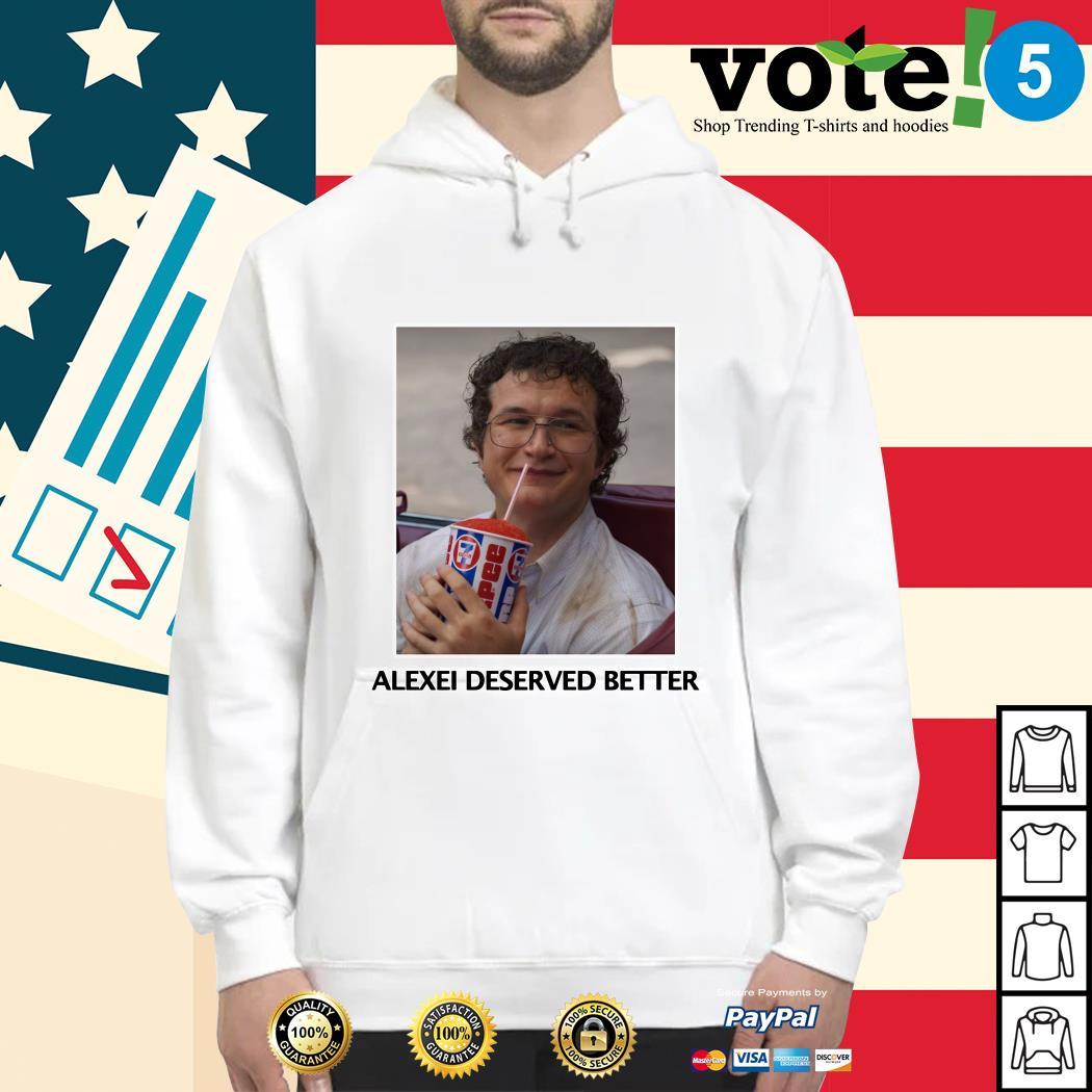 Stranger things season 3 Alexei deserved better Hoodie