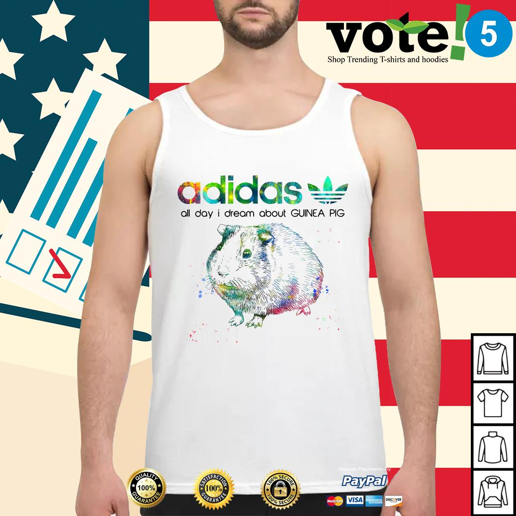 Adidas all day I dream about guinea pig Tank top