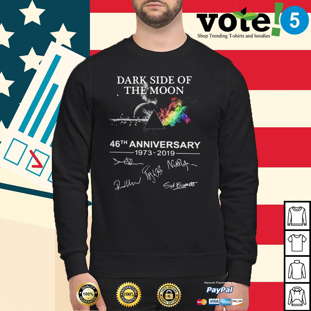 The Dark Side Of The Moon 46th anniversary 1973-2019 signature Sweater