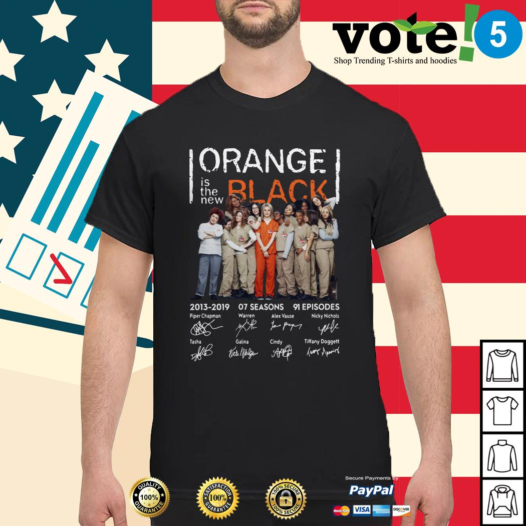 Orange is the new black signature shirt