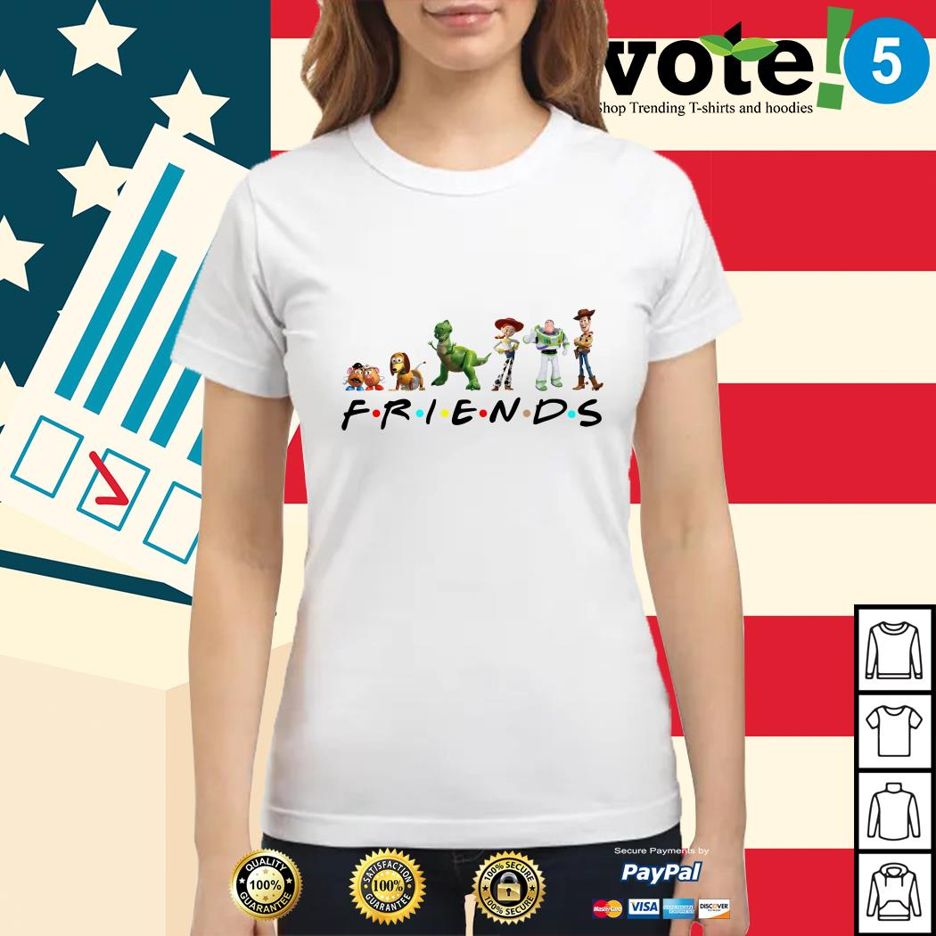 Toy Story Friends Tv Show Ladies tee