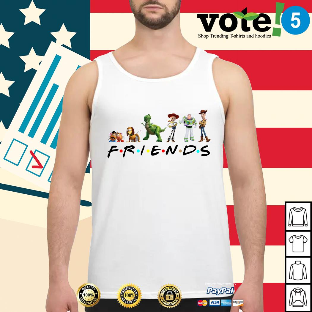 Toy Story Friends Tv Show Tank top
