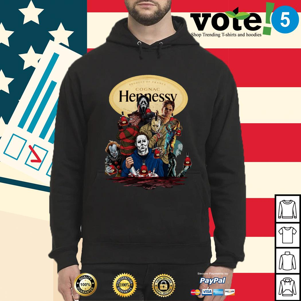 Hennessy horror characters movies Hoodie
