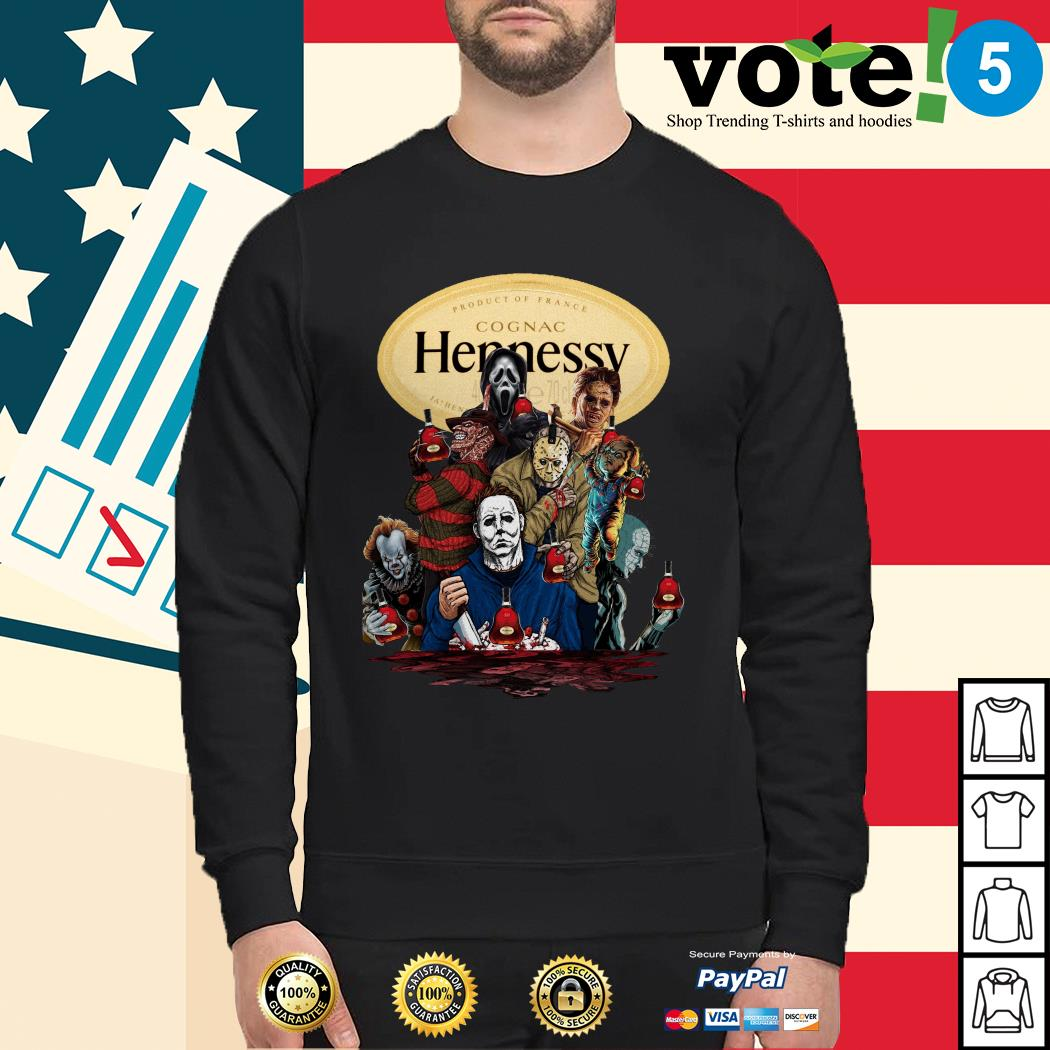 Hennessy horror characters movies Sweater