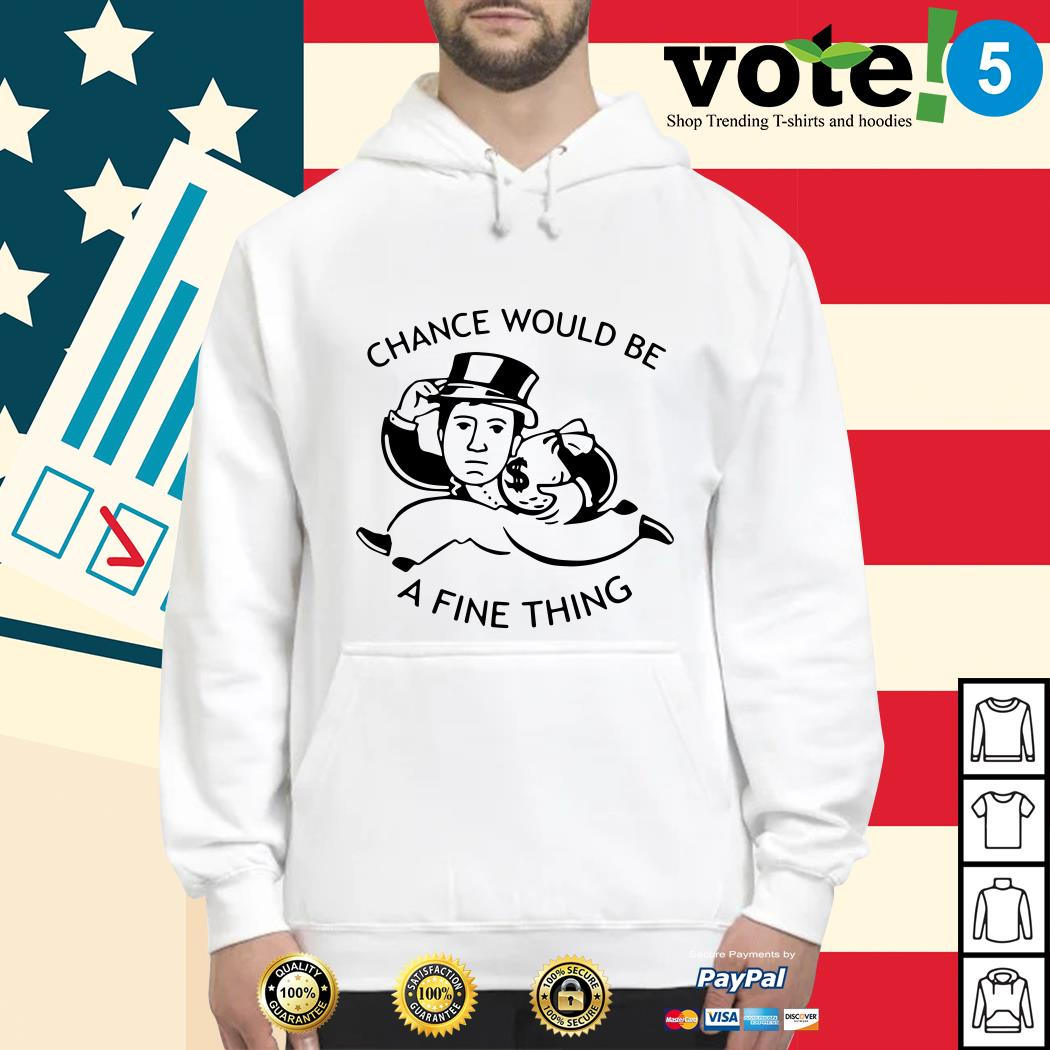 Mark Corrigan chance would be a fine thing Hoodie
