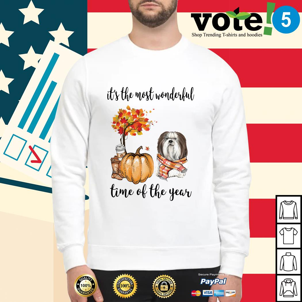 Shih Tzu it's the most wonderful time of the year Sweater