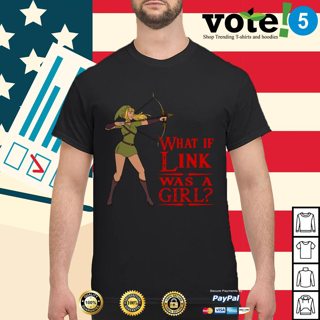 What if Link was a girl shirt