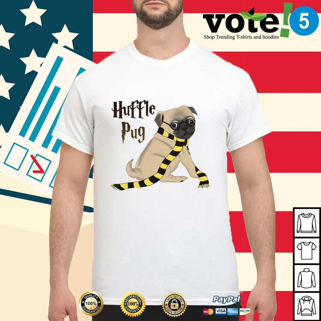 Harry Potter huffle pug shirt