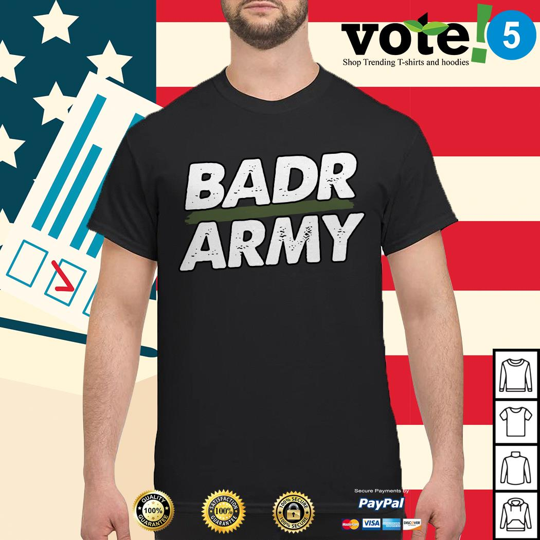Official badr army shirt