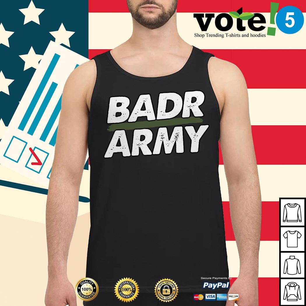 Official badr army Tank top
