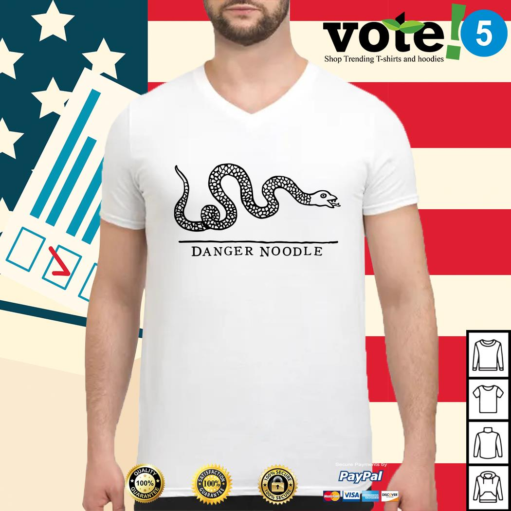 Snake danger noodle Guys shirt