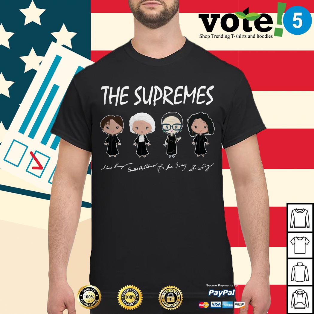 The Golden Girls The Supremes signatures shirt