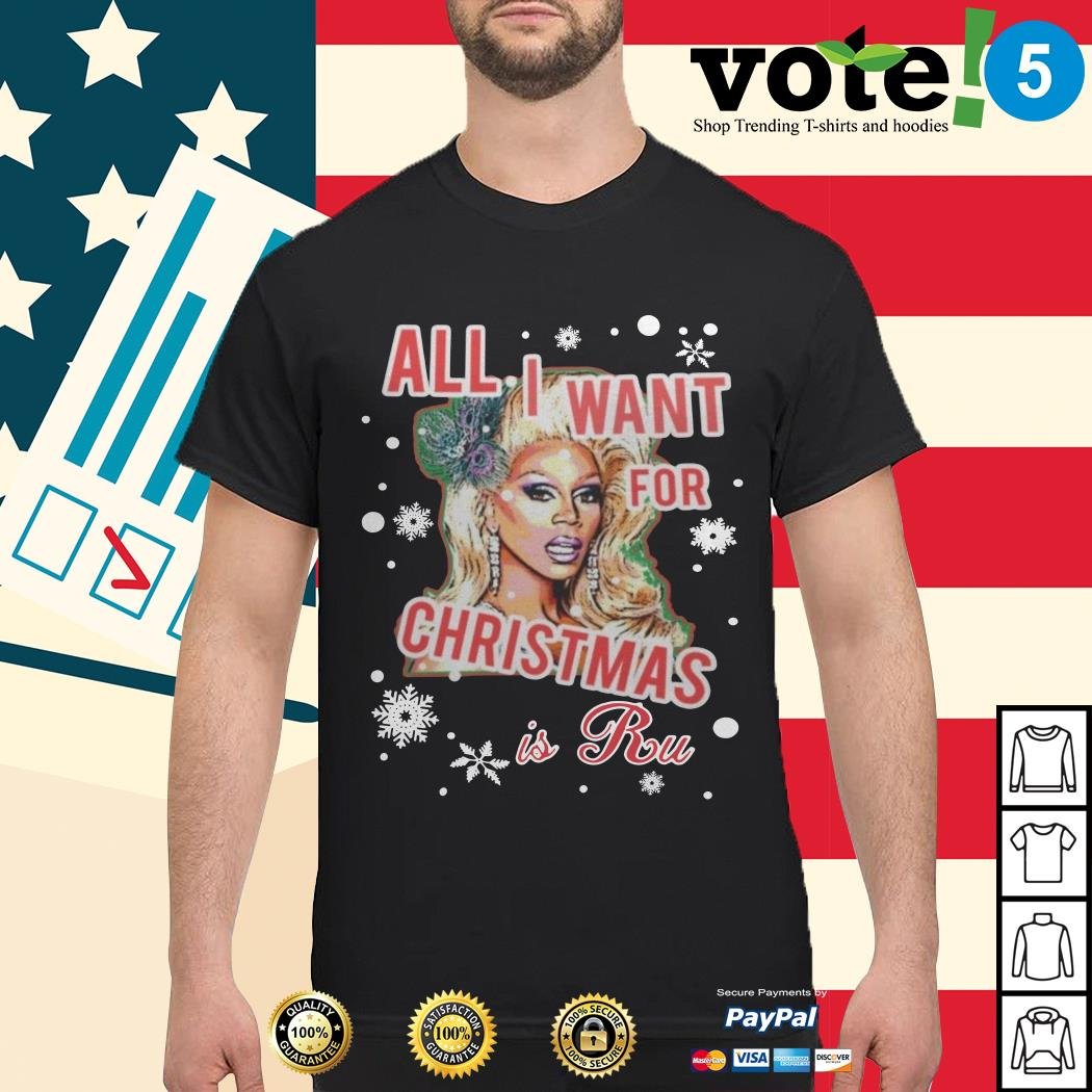 All I want for Christmas is a Ru shirt, sweater