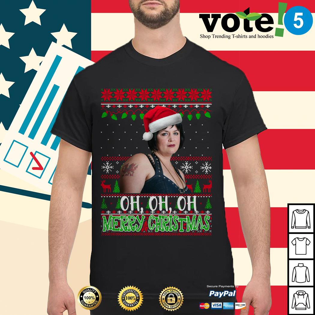 Nessa Jenkins Oh oh oh Merry Christmas ugly shirt, sweater