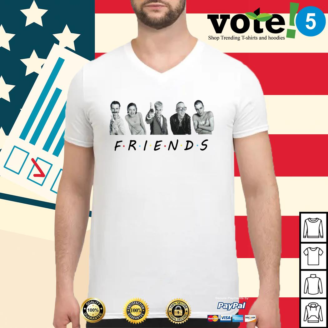 Trainspotting characters Friends TV show shirt