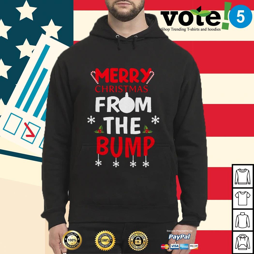Merry Christmas from the Bump shirt, sweater