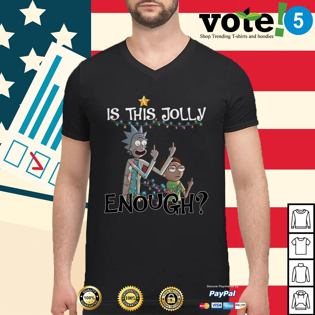 Rick and Morty is this jolly enough shirt, sweater