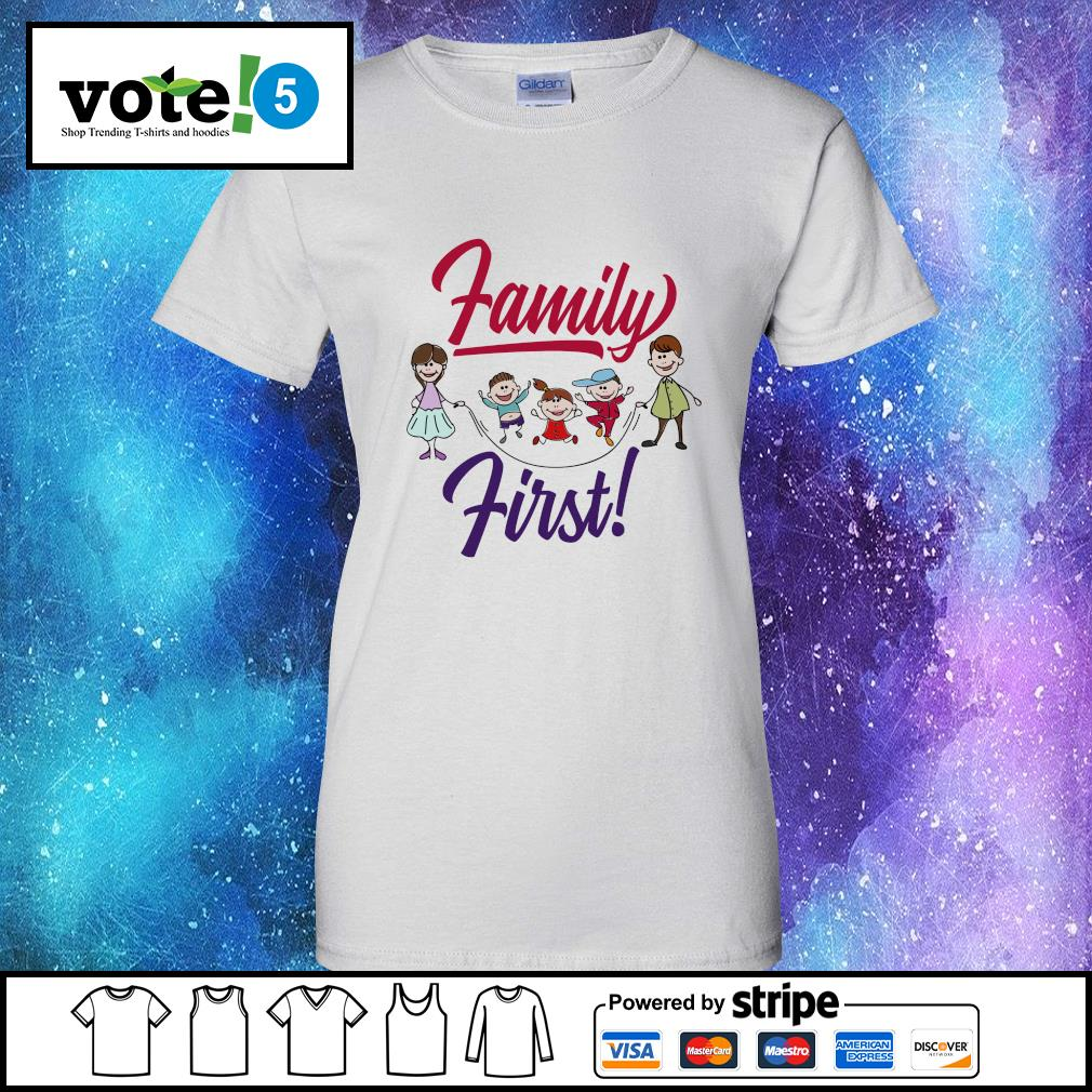 Official Family first s Ladies-Tee