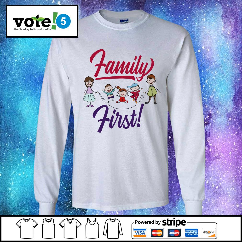 Official Family first s Long-Sleeves-Tee