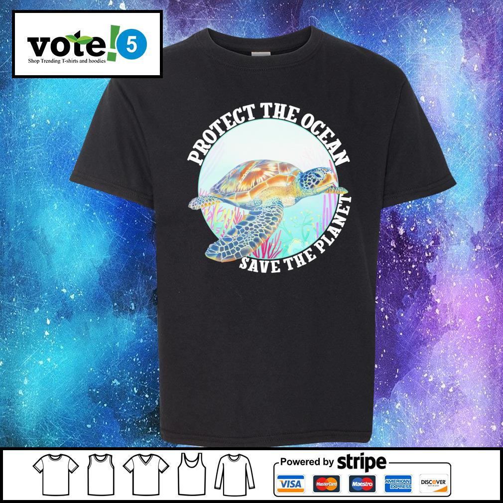 Protect the ocean save the planet s Kid-T-shirt