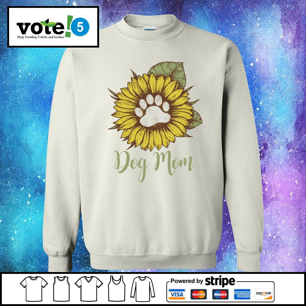 Sunflower dog mom s Sweater
